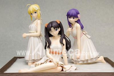 Figuras One-piece Style Premium Set (Saber, Rin Tohsaka, Sakura Matou) DreamTech Fate/stay night [Unlimited Blade Works]