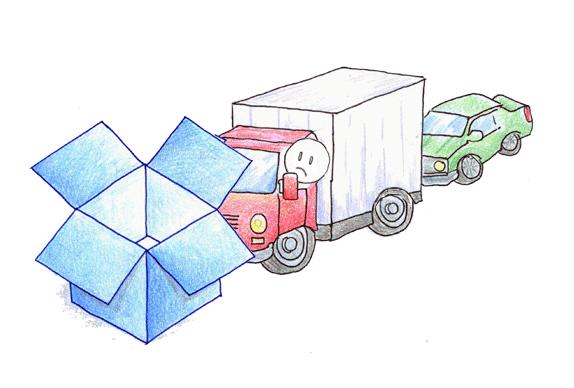 Involución culpa de la propiedad intelectual: Dropbox bloquea tu cuenta pública por un archivo.