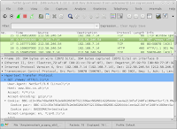 wireshark session shown NetSurf sending a co.uk supercookie to bbc.co.uk