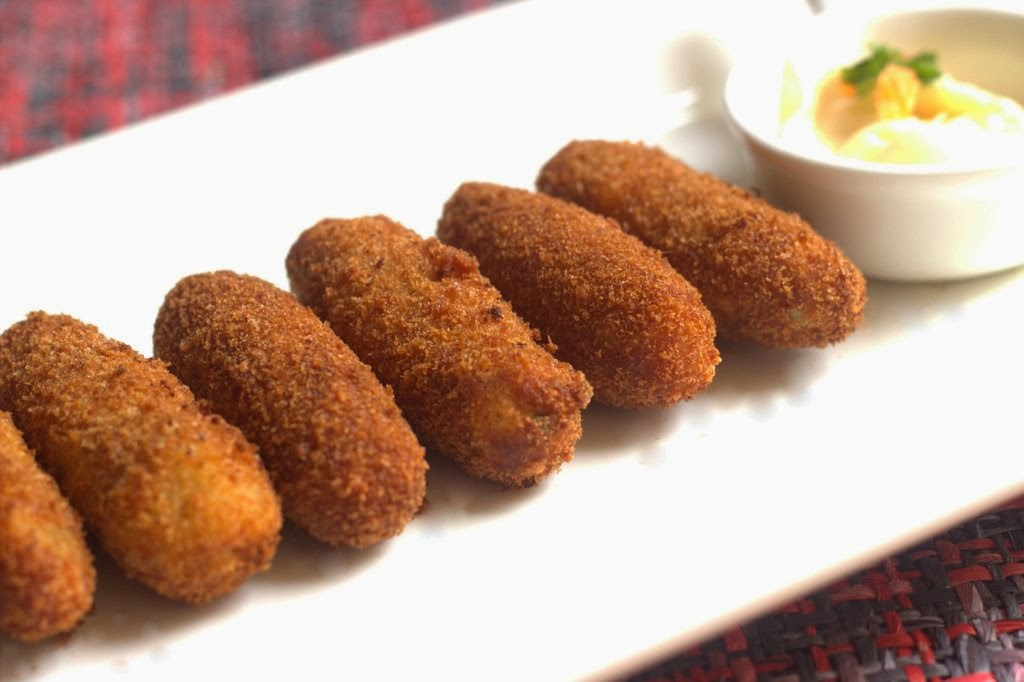 Shrimp And Cheese Croquettes Shrimp Cutlets Or Try