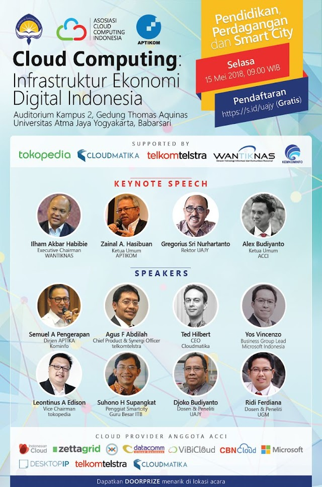 Cloud Computing: Infrastruktur Ekonomi Digital Indonesia - Yogyakarta