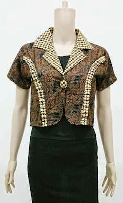 Model Rompi Baju Batik Modern Terbaru