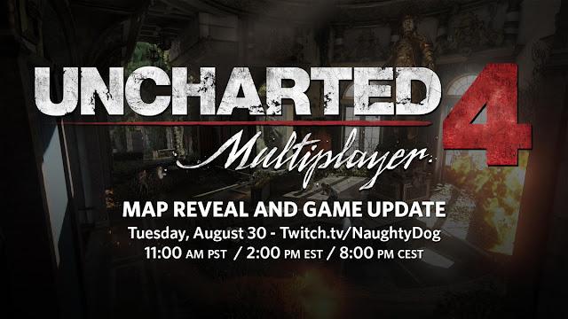El 30 de agosto Uncharted 4 presenta nuevo mapa y actualización para el multijugador