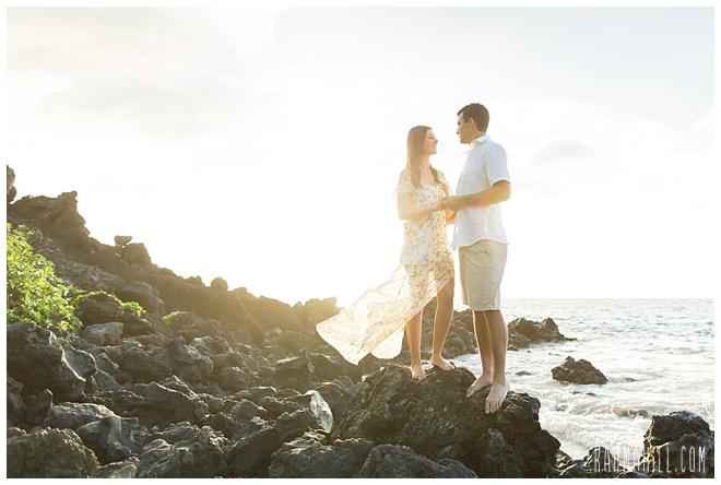 Maui Couples Beach Portraits