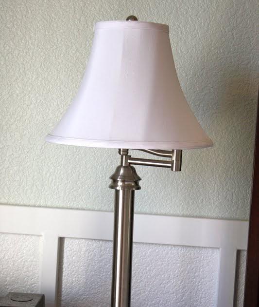 Lamps And More: Growing Up Gardner: Ruffle Lamp Shade DIY, And More Master