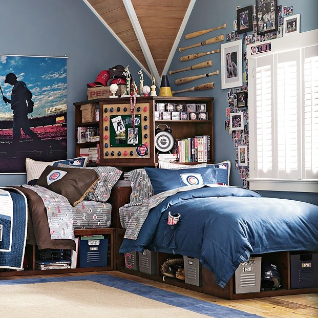 Modern Shared Boy Room: 12 Teen Boy Rooms For Inspiration