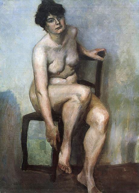 Lovis Corinth - Nudo femminile