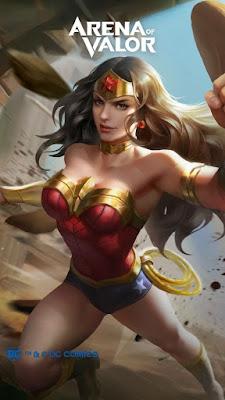 hình nền liên quân Wonder Woman