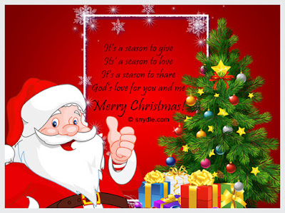 Merry Christmas Wishes, Greeting Card Image 3