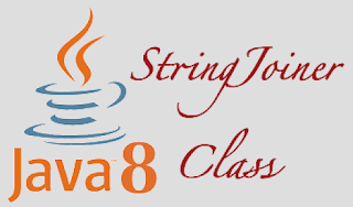 Java 8 - StringJoiner
