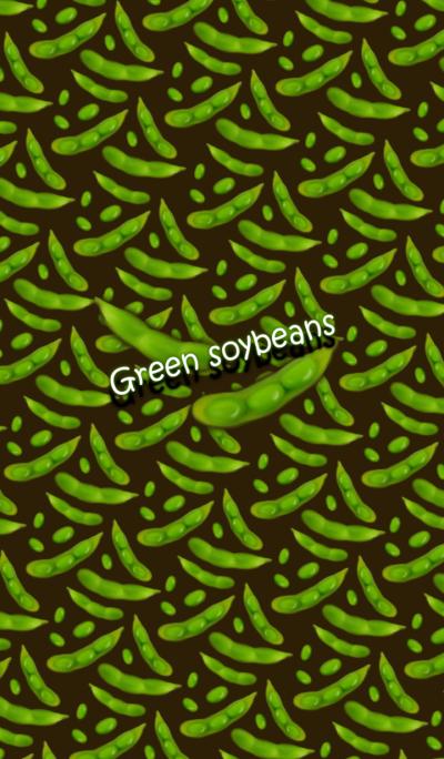 Vegetable -Green soybeans-