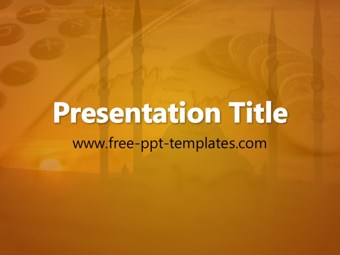 islamic finance ppt template, Modern powerpoint
