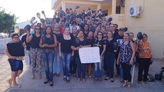Enfermeiros e agentes de saúde fazem protesto em Picuí contra PNAB
