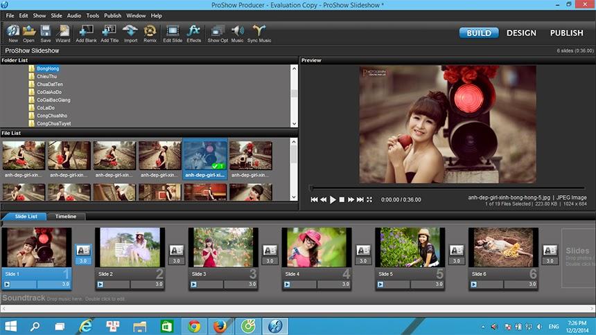 Hướng dẫn cách sử dụng phần mềm Proshow Producer full