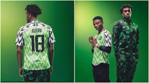Nigeria new jersey