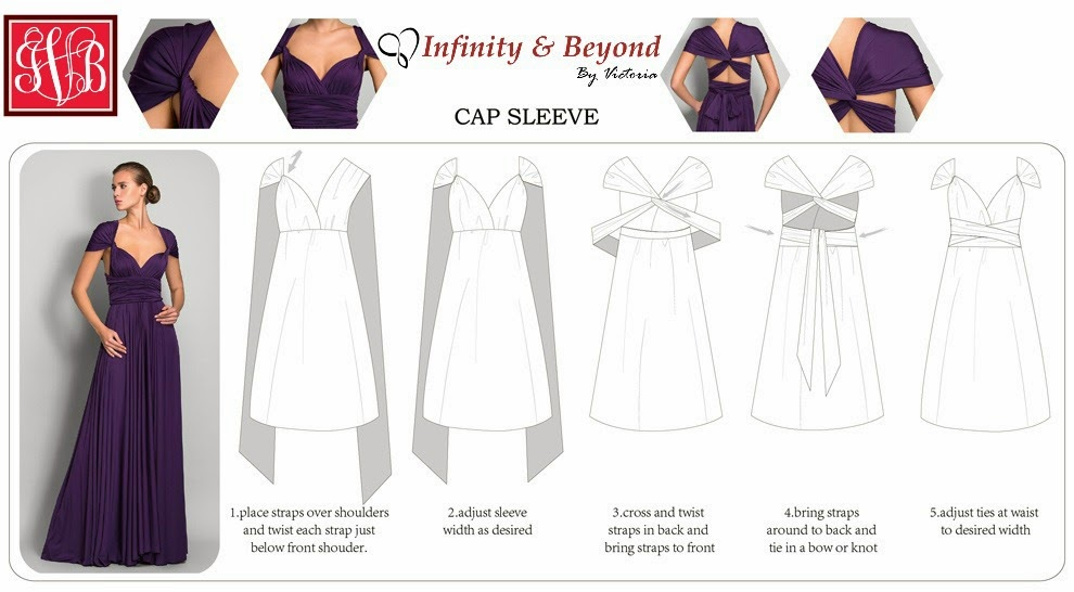 How To Wear An Infinity Dress The Adventures Of Miss