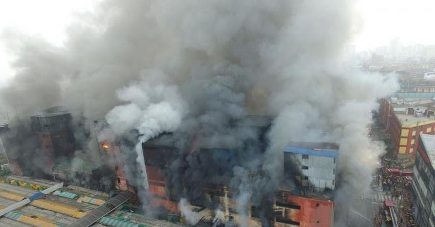 MINEDU suspende clases en 8 colegios cercanos al incendio en «Las Malvinas» www.minedu.gob.pe