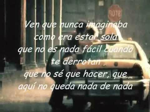 'No Me Enseñaste' Thalia Música y Letra