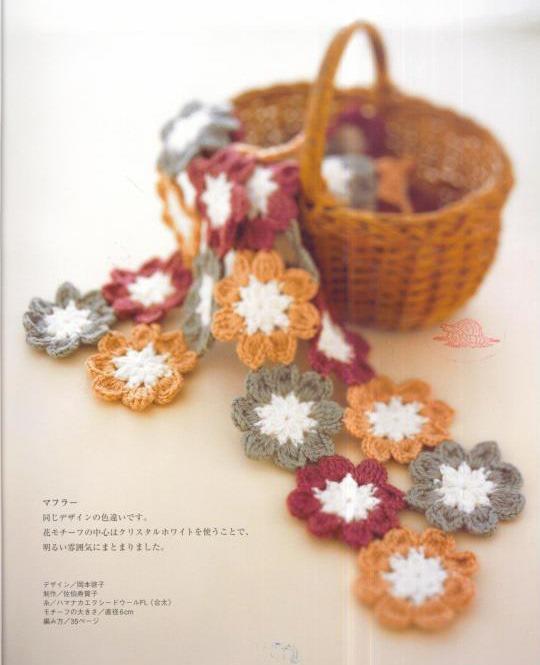 Camino de Mesa de Flores Crochet