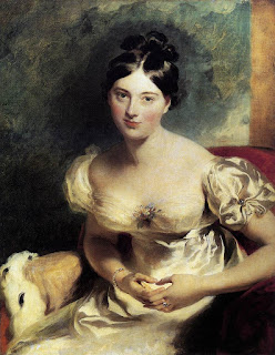 Lady Blessington, depicted here by Thomas Lawrence, settled in Naples after touring Europe