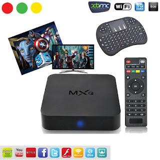 BOX TV ANDROID MXQ