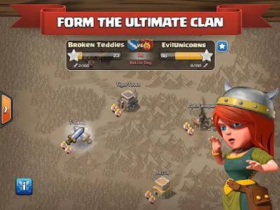 تحميل كلاش اوف كلانس مهكرة Clash of Clans