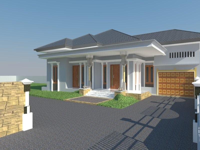 desain rumah type 100 idaman 3