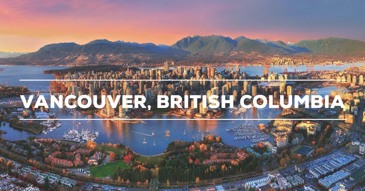 Thành phố thiên đường nơi mặt đất Vancouver, British Columbia, Canada