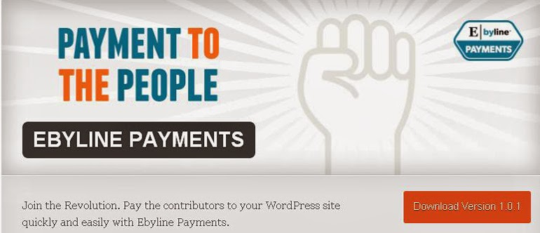 Ebyline WordPress Payments