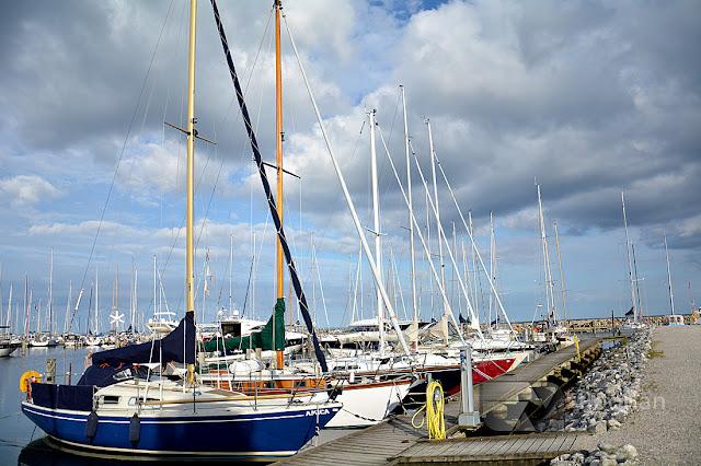Przystań jachtowa w Aarhus - top atrakcja turystyczna w duńskim Aarhus