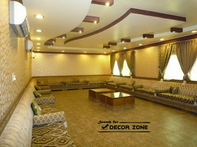 25 original false ceiling designs 2017 integrated for Wooden false ceiling for living room
