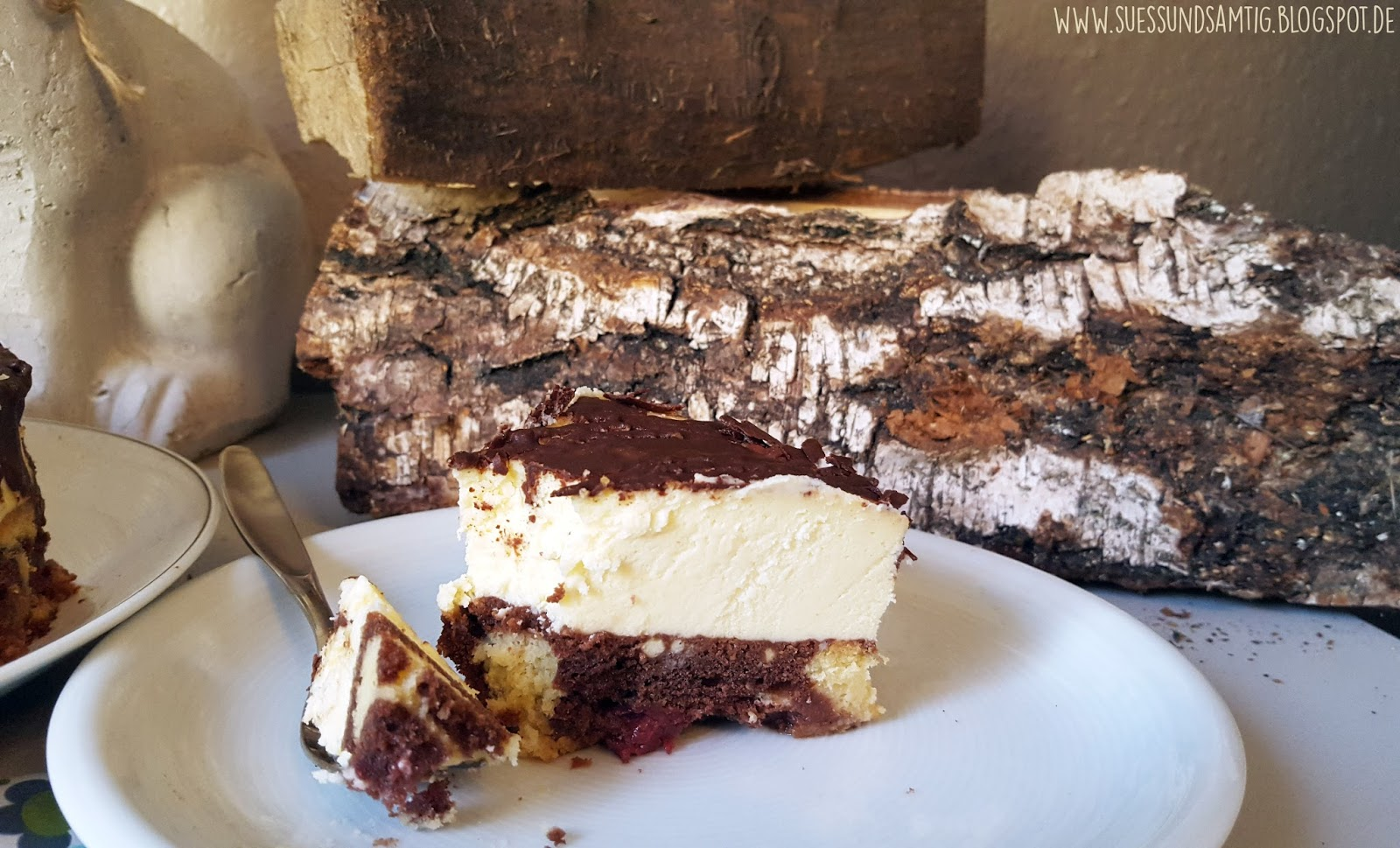 Suss Samtig Donauwellen Cheesecake