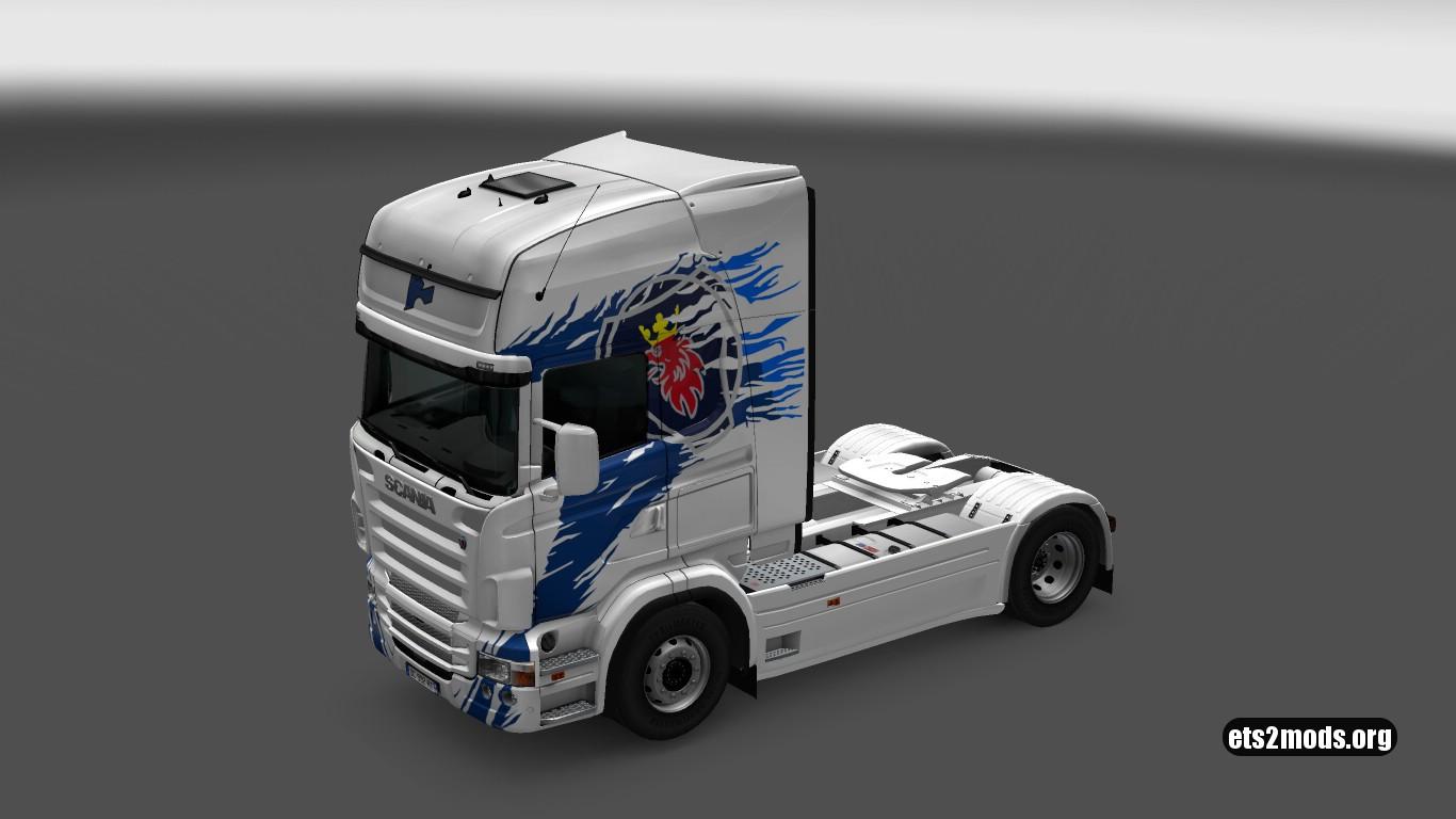 Scania RJL Klanatrans Flavio Skin
