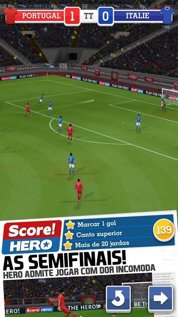 Score! Hero v 2.62 apk mod DINHEIRO INFINITO