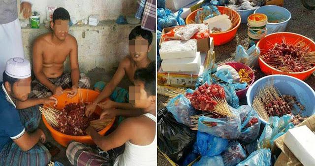 Kucing & Anjing yang Dibikin Sate Untuk Dijual di Bazaar Ramdhan, Ternyata Sebenarnya...