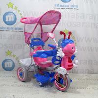sepeda roda tiga family lebah