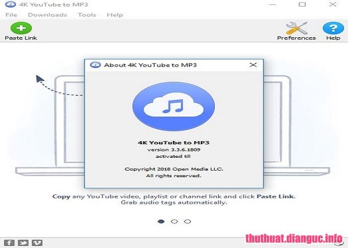 Download 4K YouTube to MP3 3.4.0.1964 Full Crack, 4K YouTube to MP3, 4K YouTube to MP3 free download, 4K YouTube to MP3 full key, phần mềm tải mp3 youtube,