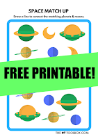 Use this space visual perception puzzle to work on visual motor and visual perceptual skills needed for handwriting, reading, and math.