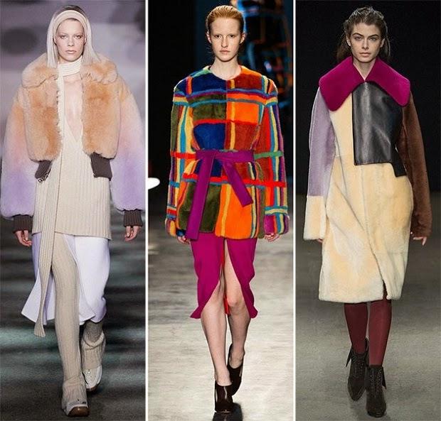 Οι τάσεις της μόδας στα ρούχα φθινόπωρο 2014 χειμώνας 2015 περιλαμβάνουν  πολλά διαφανή υφάσματα ef3df792275