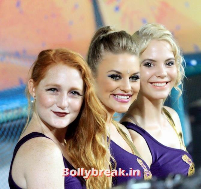 Kolkata Knight Riders cheerleaders, Which team has the sexiest cheerleaders in the IPL 7
