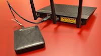 Collegare un disco al router per condividere file in rete