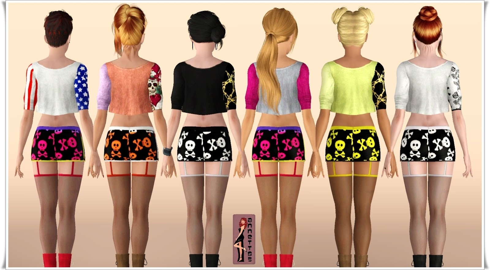 Fashion Sims3 clothes for your game - Lorandia Sims 3