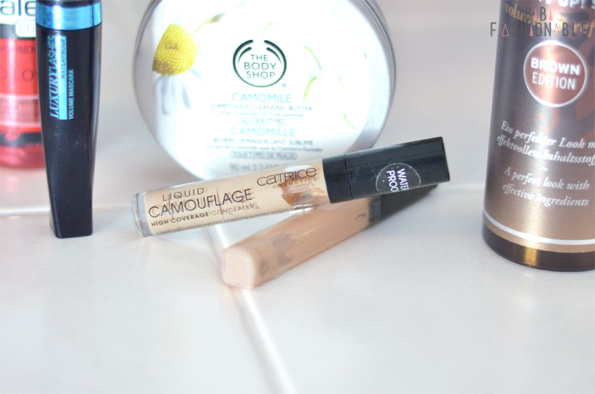 Aufgebraucht Catrice Liquid Camouflage High Coverage Concealer Maybelline Fit Me! Concealer