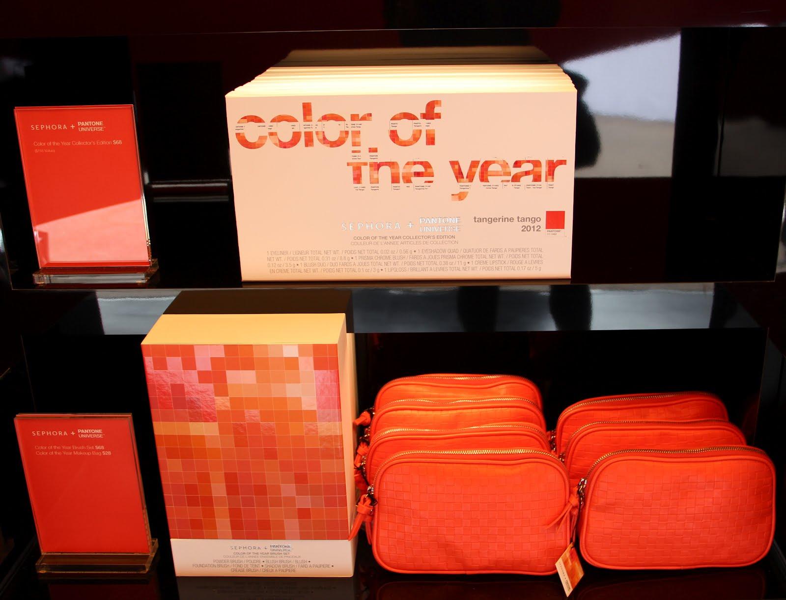 Watch Sephora Launches Pantone Tangerine Tango Collection video