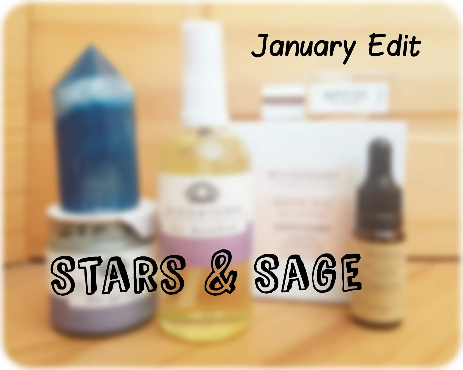 Stars & Sage subscription box January products