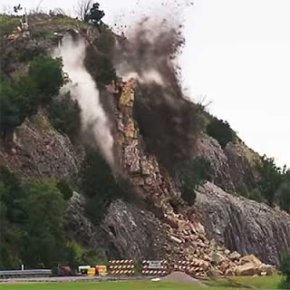 Garver Mitigates Emergency Rock Slide