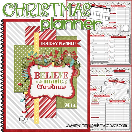 image regarding Free Christmas Planner Printables named Xmas within July Sale + Getaway Procuring Advisor! - My