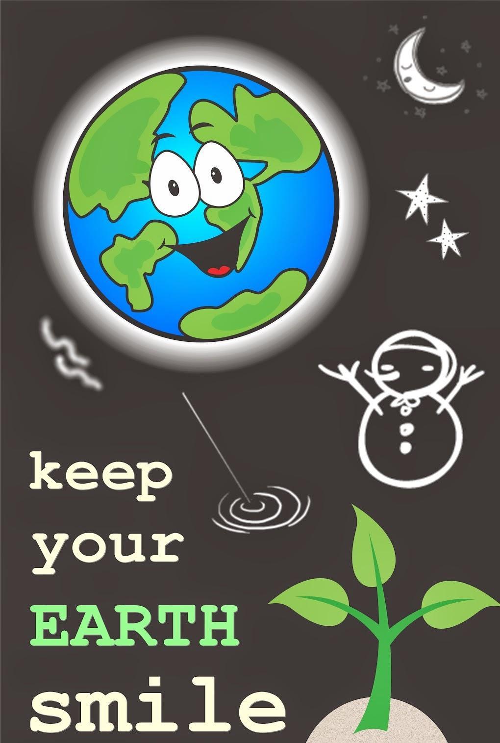 Contoh Poster Cinta Lingkungan Hidup Dan Lingkungan Alam Dalam