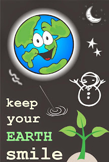 Keep your earth smile sumber foto