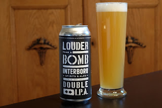Louder Than a Bomb IPA fra Interboro Brewing